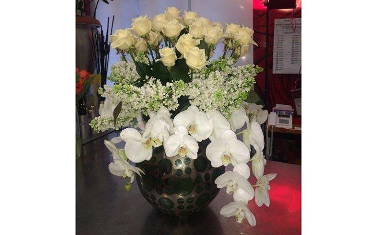 Creazioni con fiori freschi