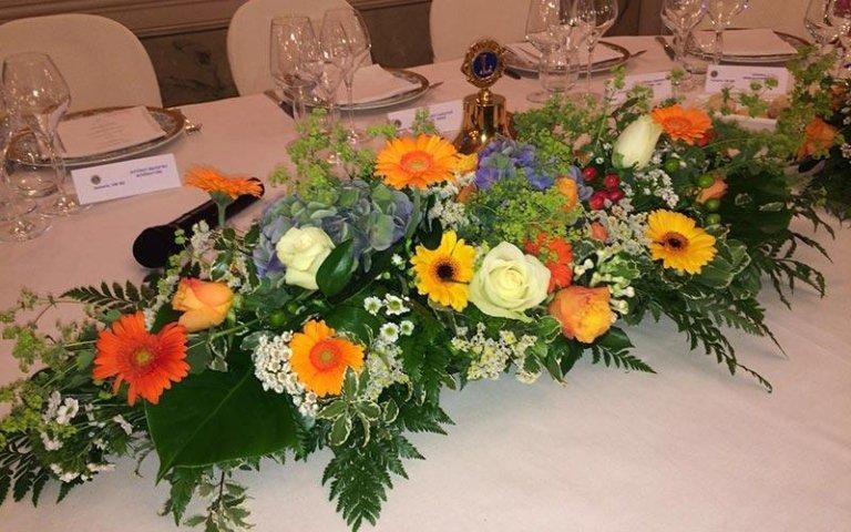 Decorazioni floreali per congressi
