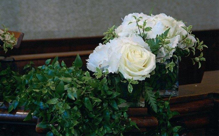 Decorazioni di fiori freschi