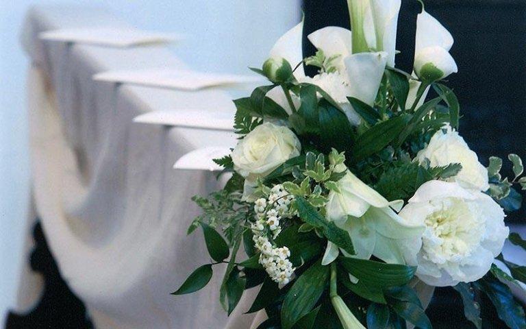 Decorazioni floreali per cerimonie