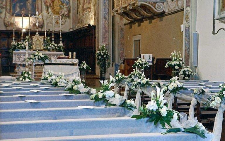 Decorazioni per banchi di chiese