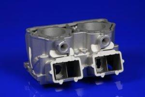 componente metalico di un motore