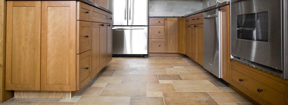 stylish kitchen flooring