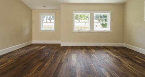 dark brown flooring