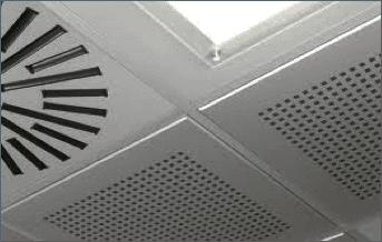 Controsoffitti in acciaio e alluminio preverniciati