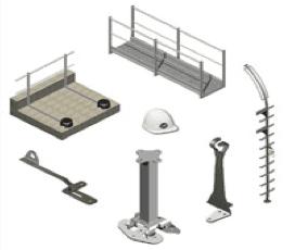 Sistema linea vita e dispositivi di sicurezza anticaduta