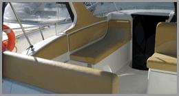 Tappezzerie per imbarcazioni