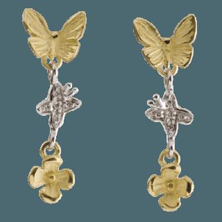 Papillon orecchini