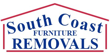 south coast furniture removals business logo