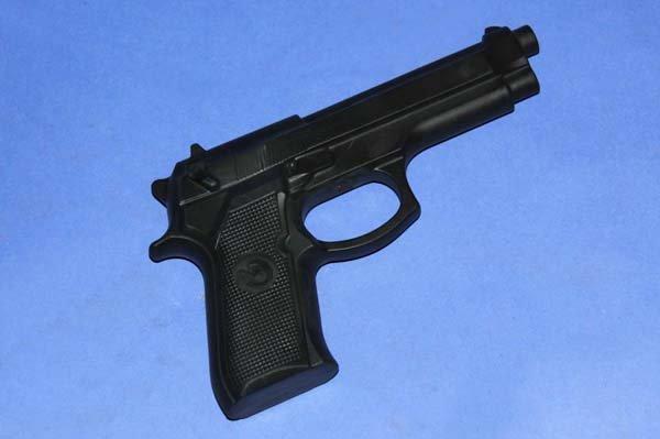 Pistola in gomma per krav maga
