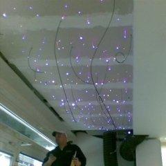 cielo stellato, fibre ottiche soffitto, effetto cielo