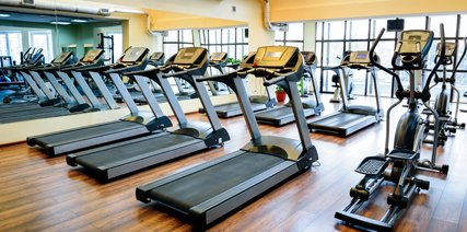 Range of fitness machine on hire