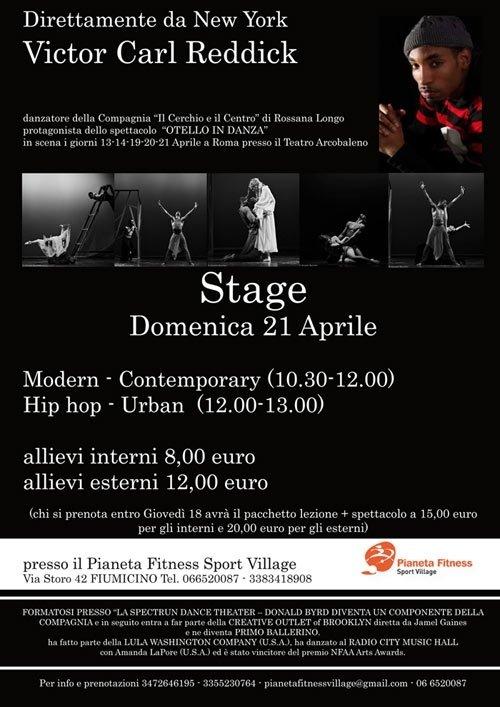 stage danza jazz
