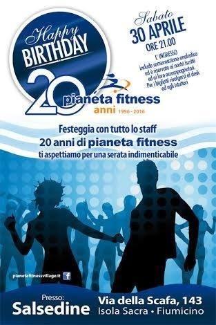 Festa pianeta fitness