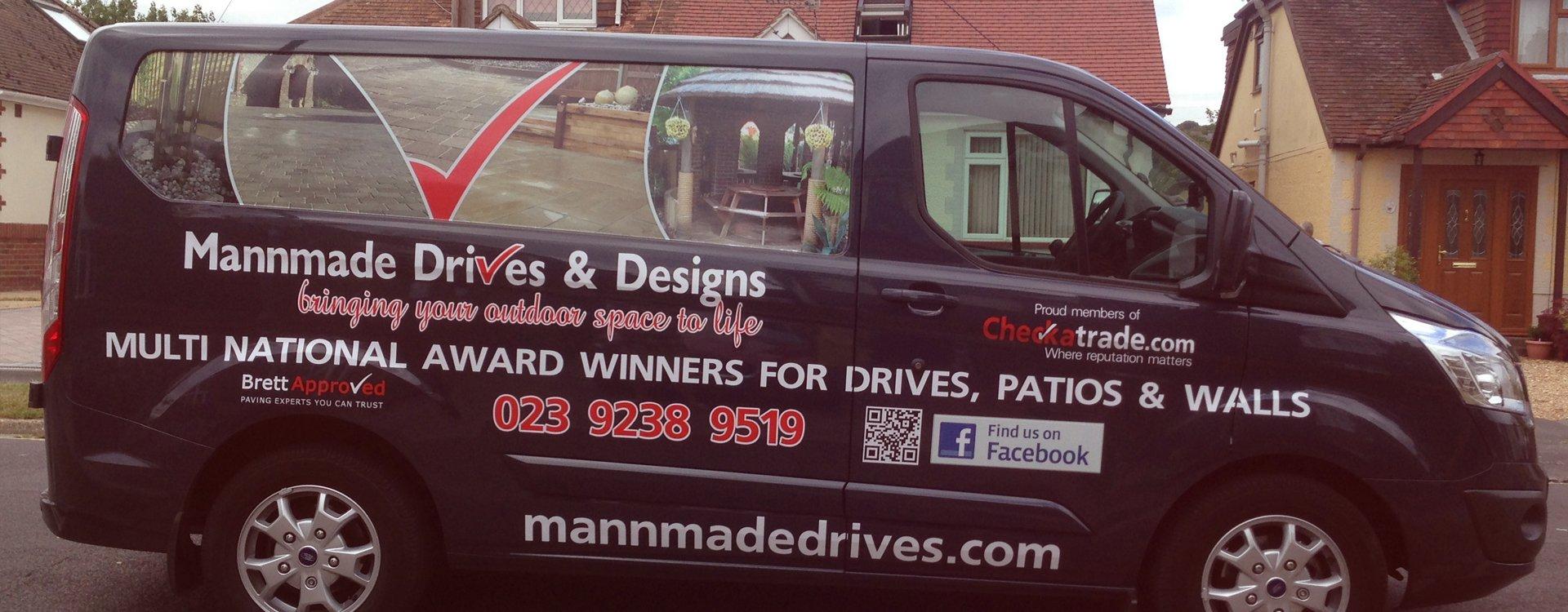 Mannmade Drives & Designs Ltd company van