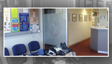 riverina podiatry group and sports podiatry centre view of cabin and chairs