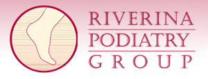 riverina podiatry group and sports podiatry centre business logo