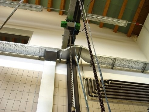 carrucola elettrica per sollevamento pesi