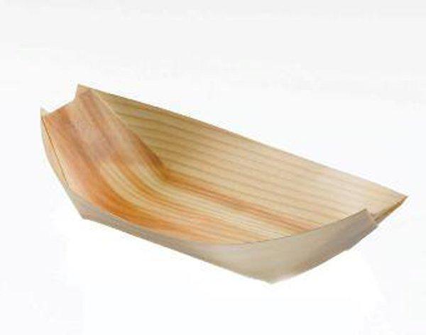 barchetta portagioie in legno