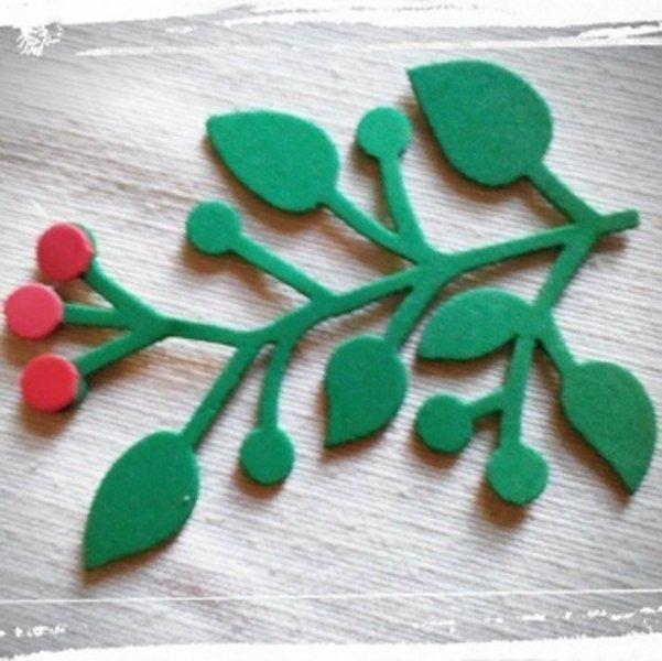 articolo per impacchettare regali natalizi a forma di pianta