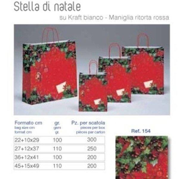 listino borse di carta natalizie
