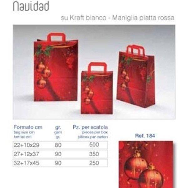 packaging per regali natalizi - assortimento borse