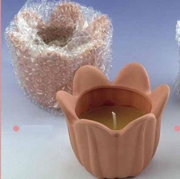 candele a forma di fiore