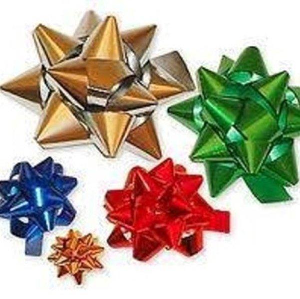 stelle di natale per pacchetti natalizi
