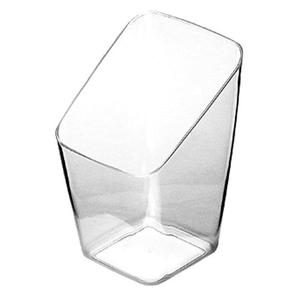 contenitore di plastica trasparente