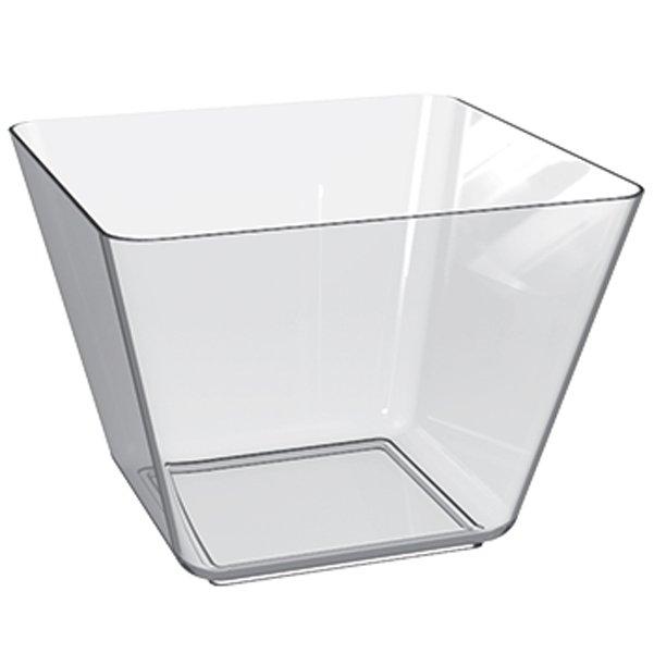 contenitore rettangolare trasparente