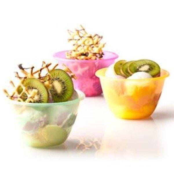piccoli contenitori di plastica porta frutta