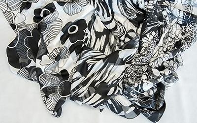 Fabrics for foulards