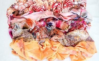 Confezionamento foulard