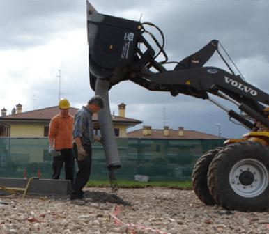 lavori edili stradali