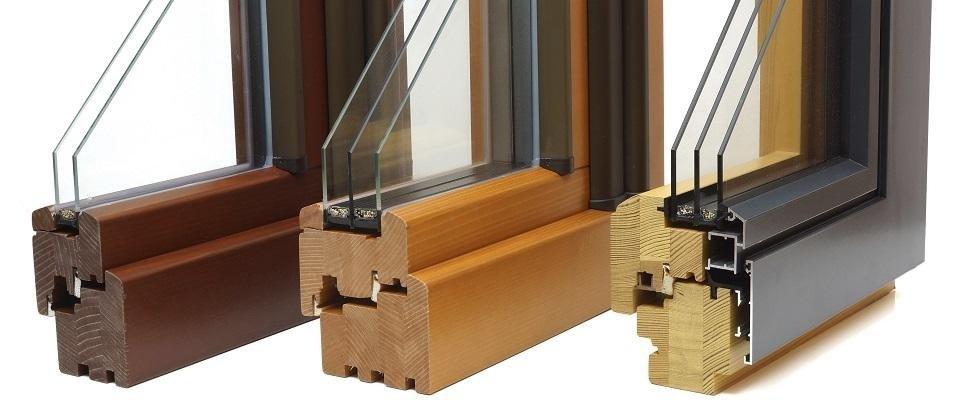 infissi legno, legno-alluminio, PVC