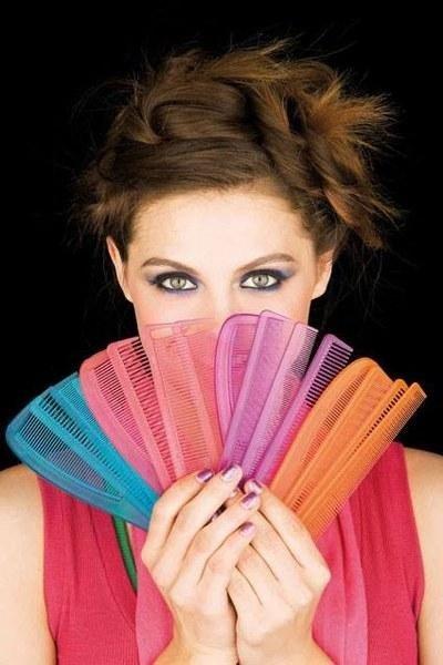 piastre capelli colorate