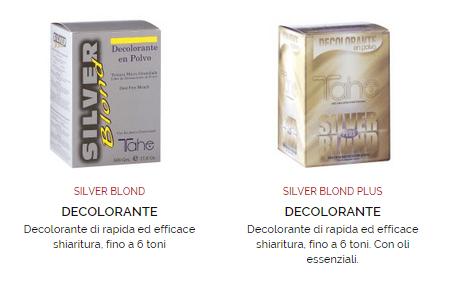 colore silver o blond