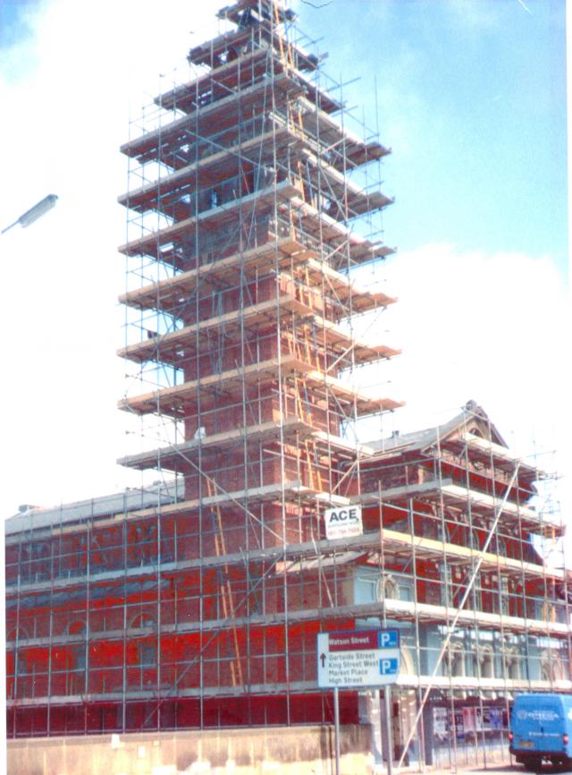 Scaffolding - Trafford, Greater Manchester - Ace Scaffolding (M/CR) Ltd