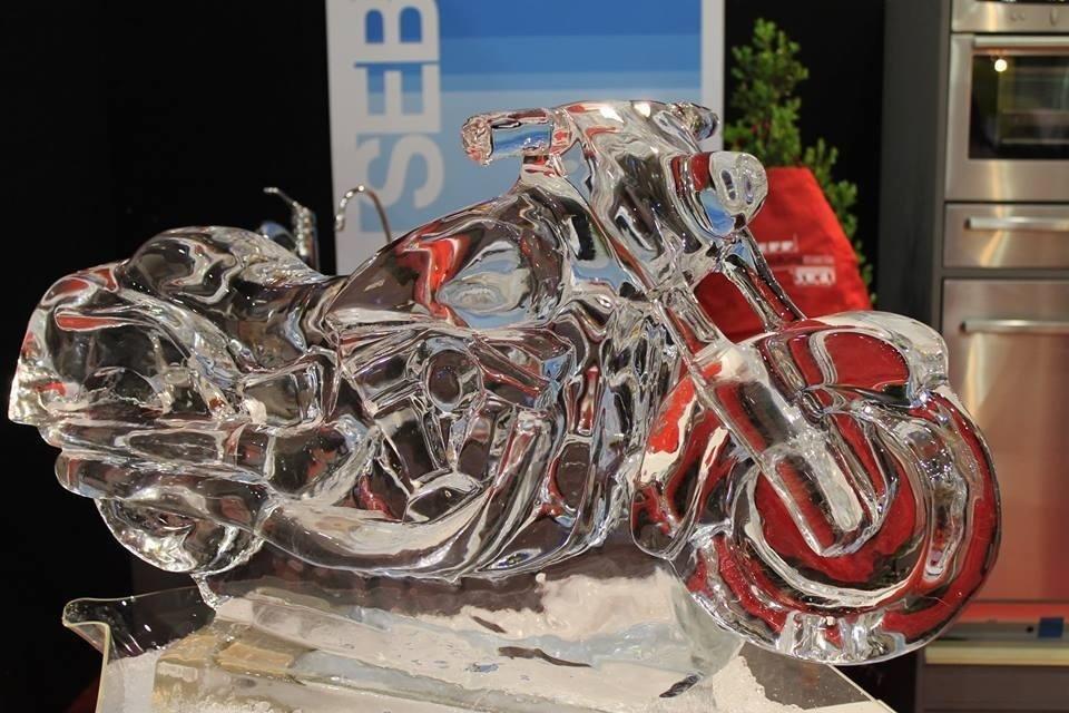 sculture di ghiaccio roma