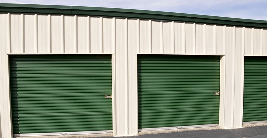 Some of our self storage units on the Gold Coast