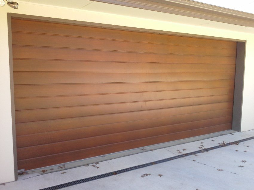 One of our installed garages in Canberra