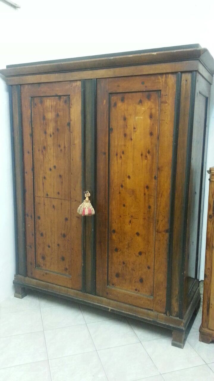 Interessante armadio Biedermeir