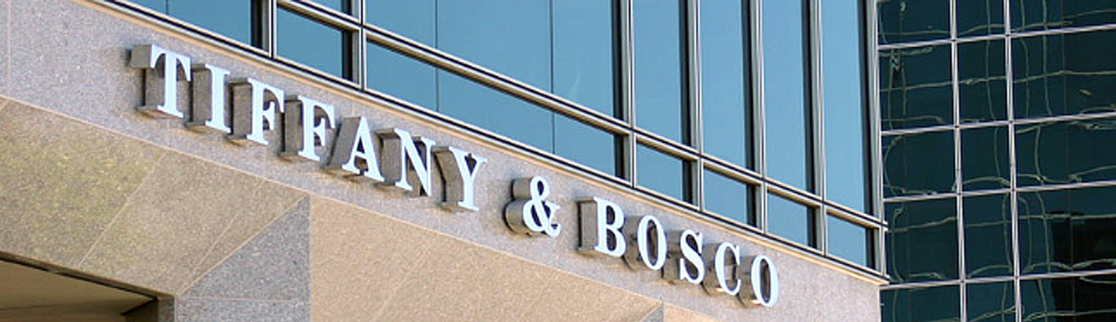 Tiffany & Bosco's offices at the Camelback Esplanade