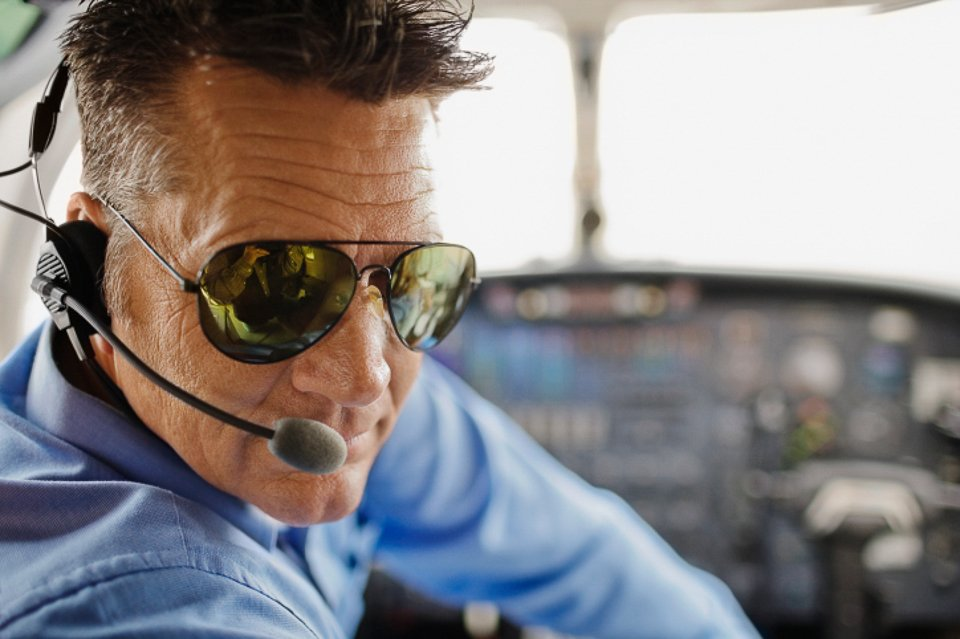 e1a483e7117ff NON-POLARIZED SUNGLASSES FOR PILOTS