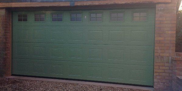 Sectional Garage Doors By Kingswinford Based Company