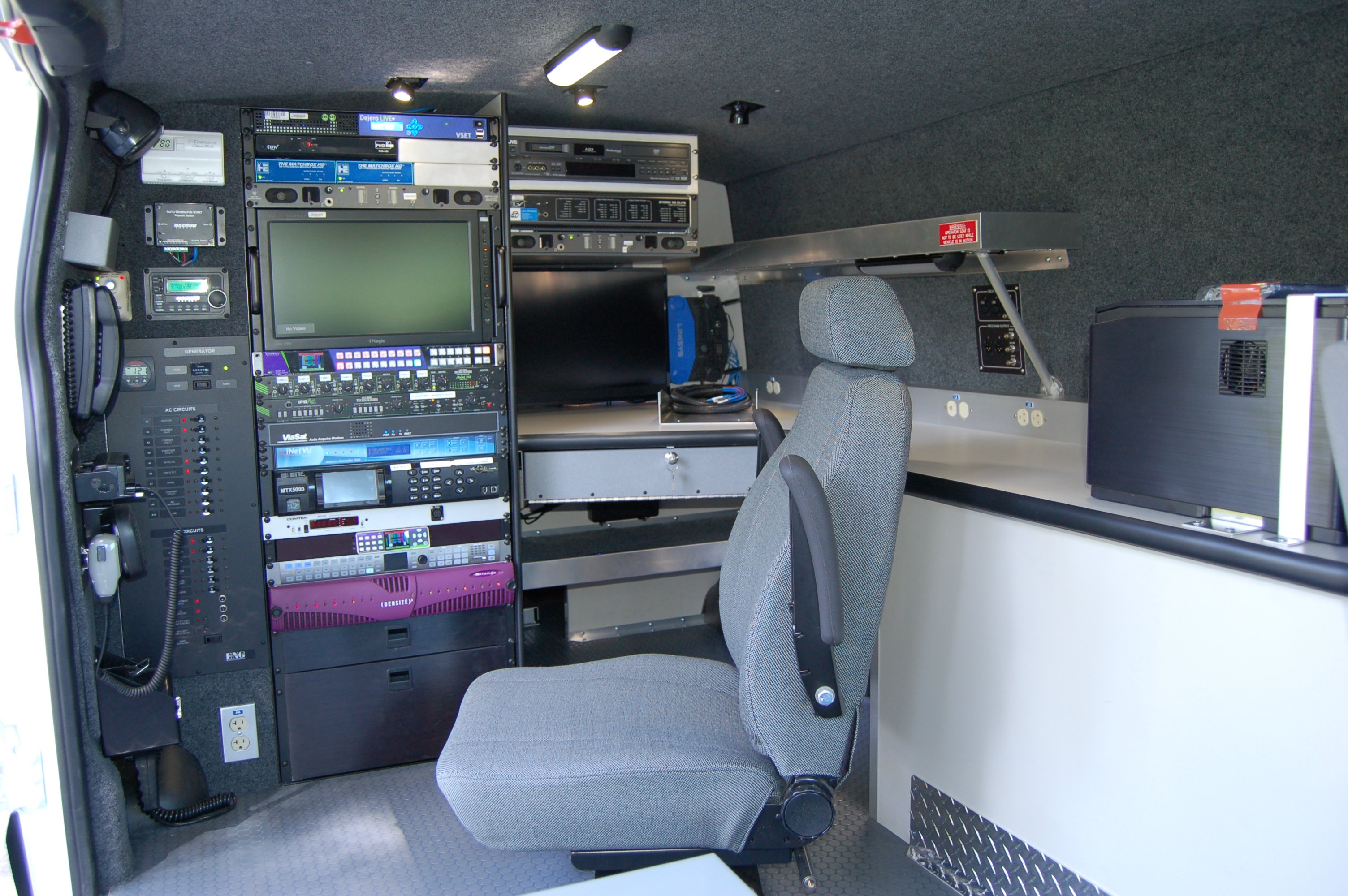 Broadcast Equipment Integration