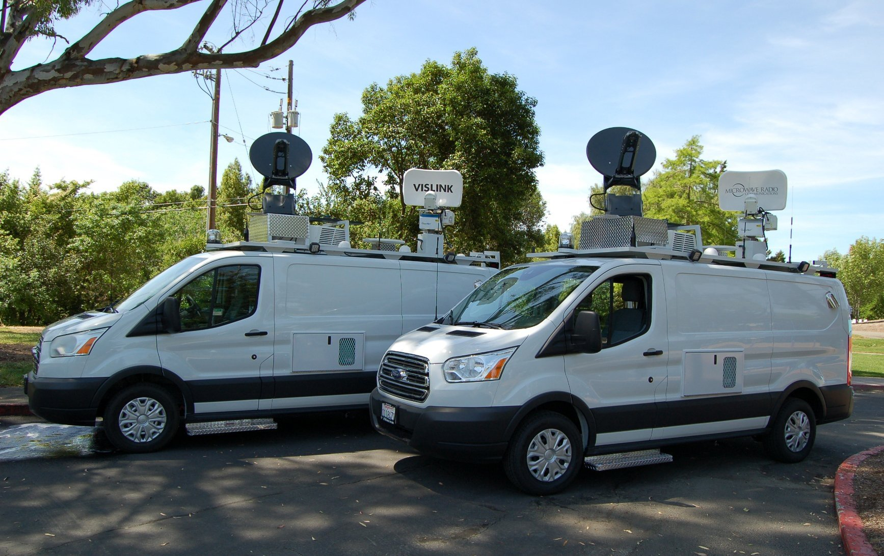 Broadcast Vehicles