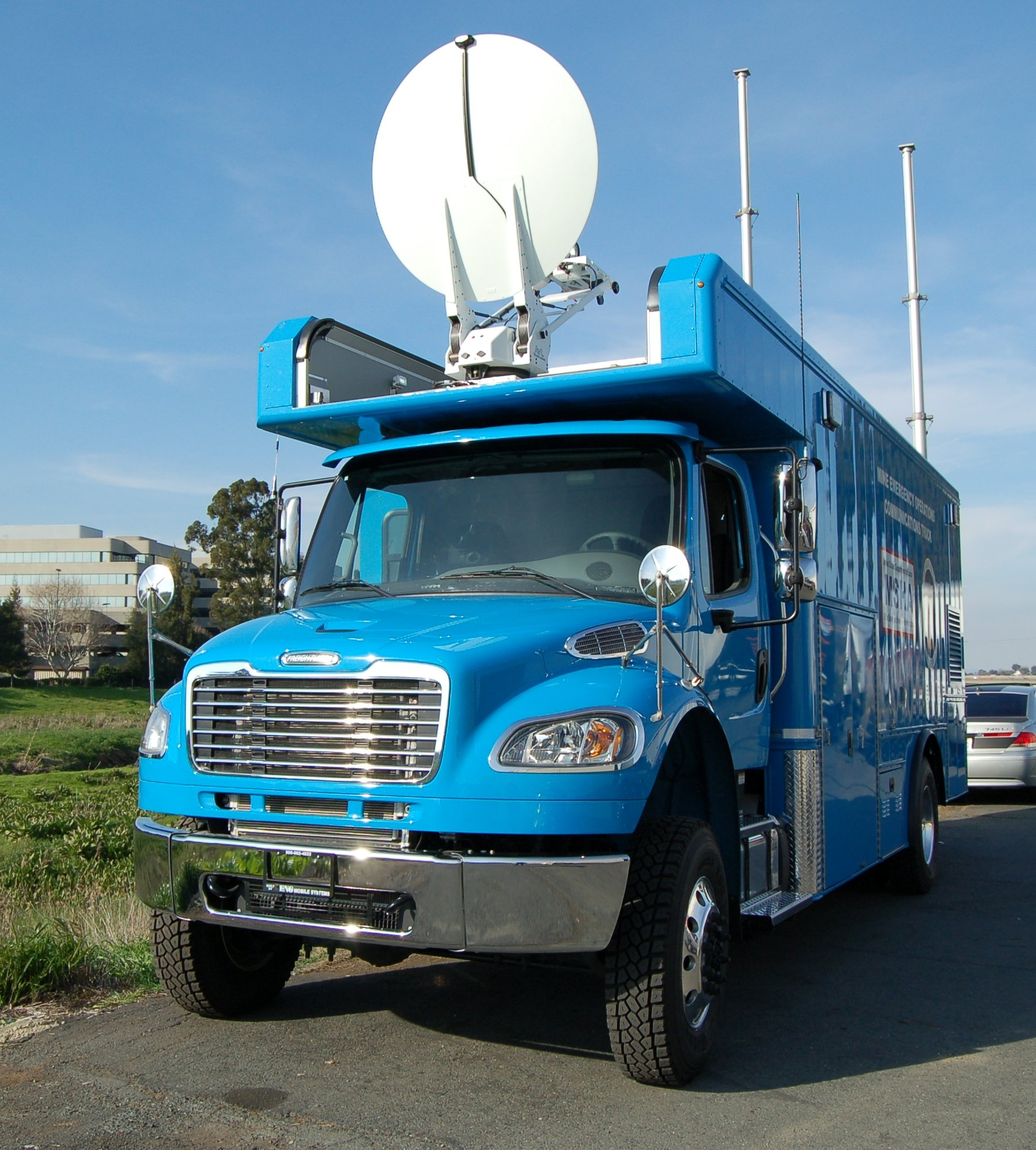 Communications Vehicle