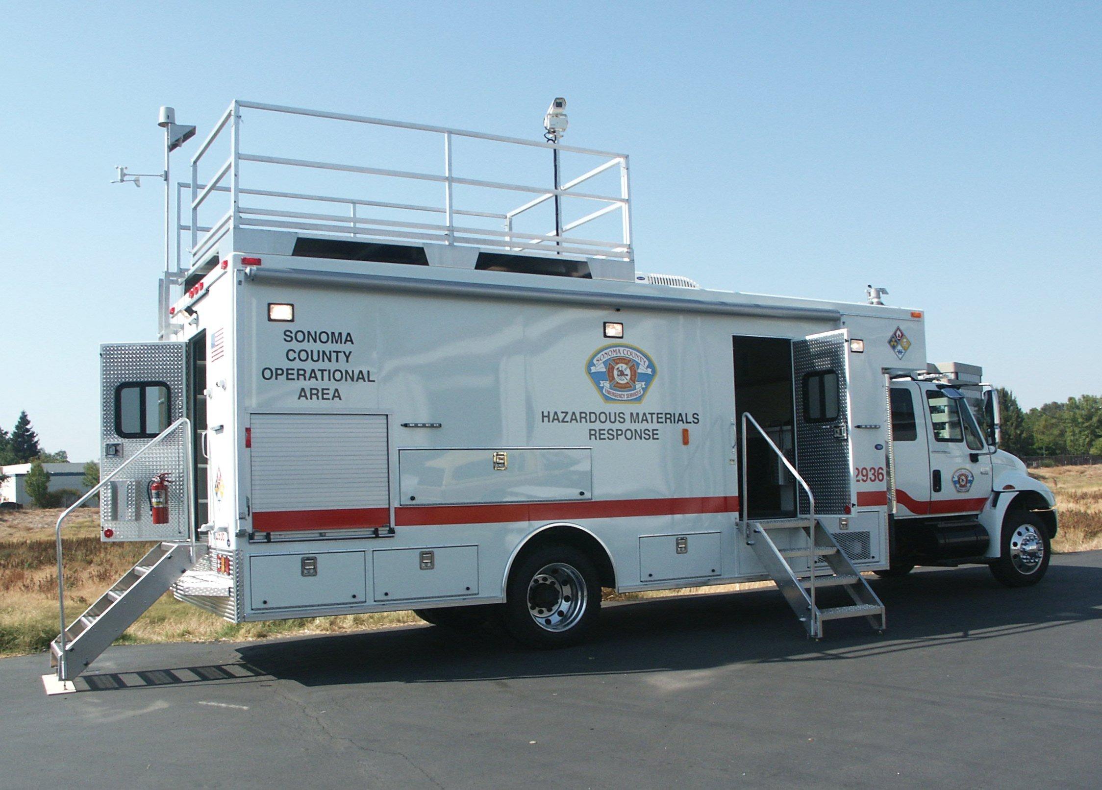 Hazmat Emergency Response Truck