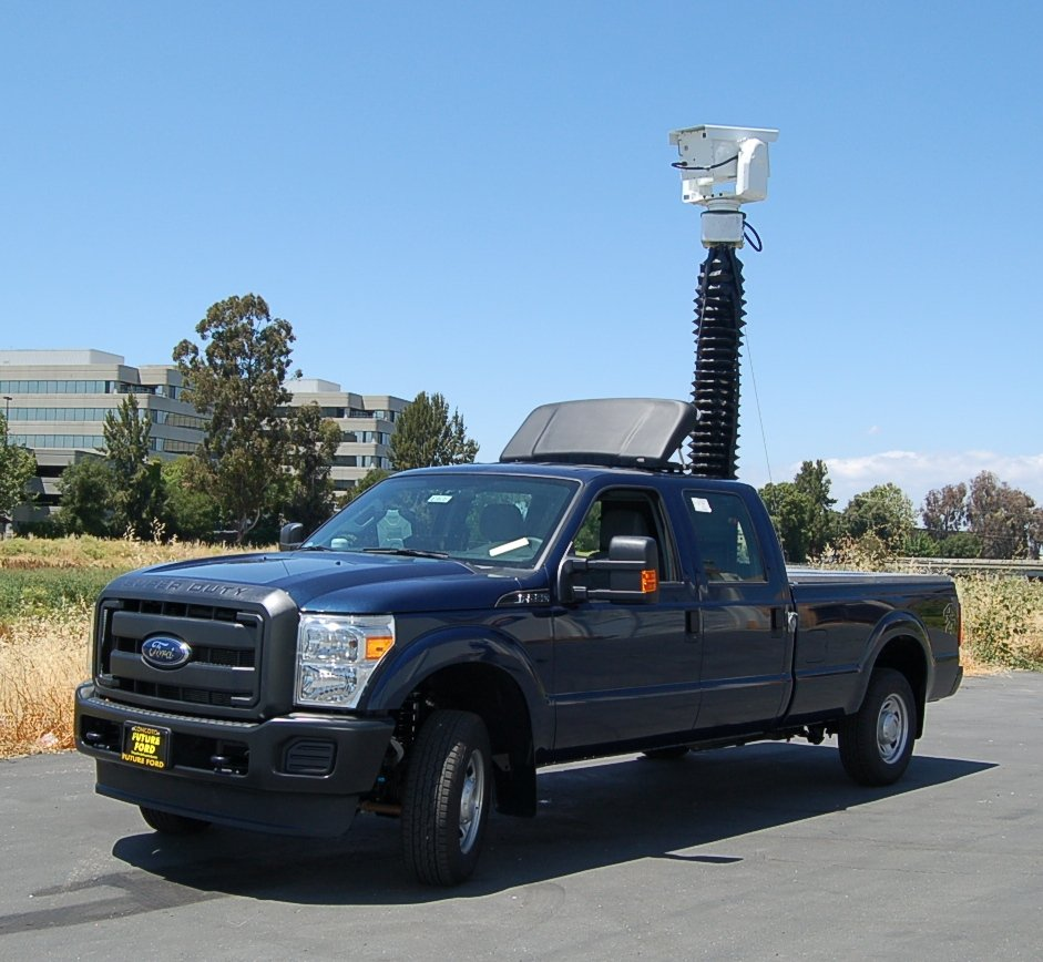 Infrared Line Testing Vehicle